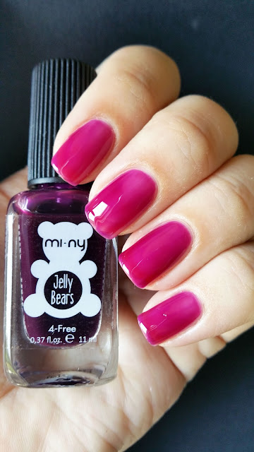 smalti jelly mi ny -  plum n°3