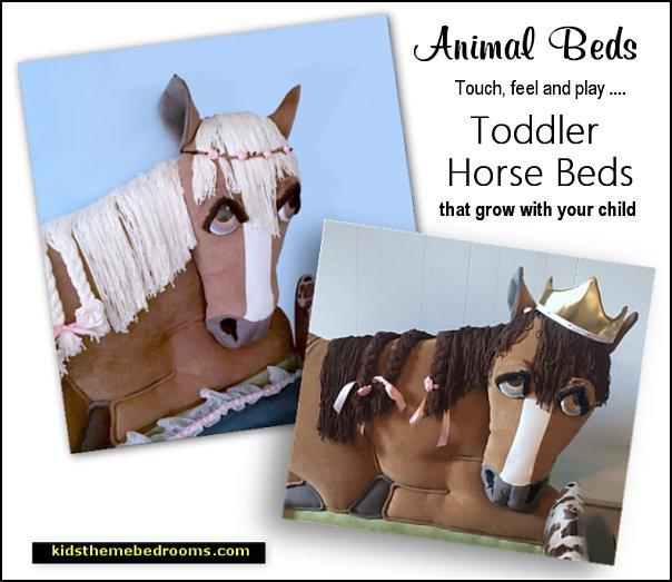 horse themed toddler beds girls beds boys beds
