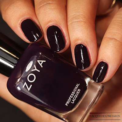 Nail polish swatch of  Leighton from the Zoya Element Fall 2018 collection