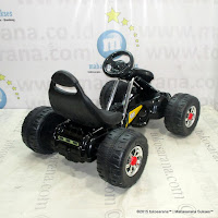 Mobil Mainan Aki Junior TR6628 Gokart Black