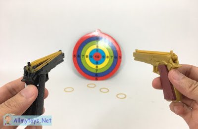 Semi Auto Tiny Rubber Band Toy Guns