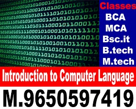 Chapter 5 : Introduction to Computer Language