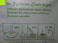 Anwendung: Emerail Premium Grüner Tee - Ziran