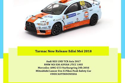Tarmac New Release Edisi Mei 2018