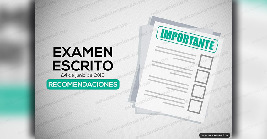 CNM: Recomendaciones Examen Escrito - Concurso Jueces y Fiscales (Local Examen 24 Junio UNMSM) www.cnm.gob.pe