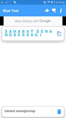 Membuat Text Berwarna di WhastApp