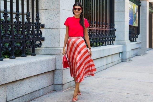 falda-plisada-look