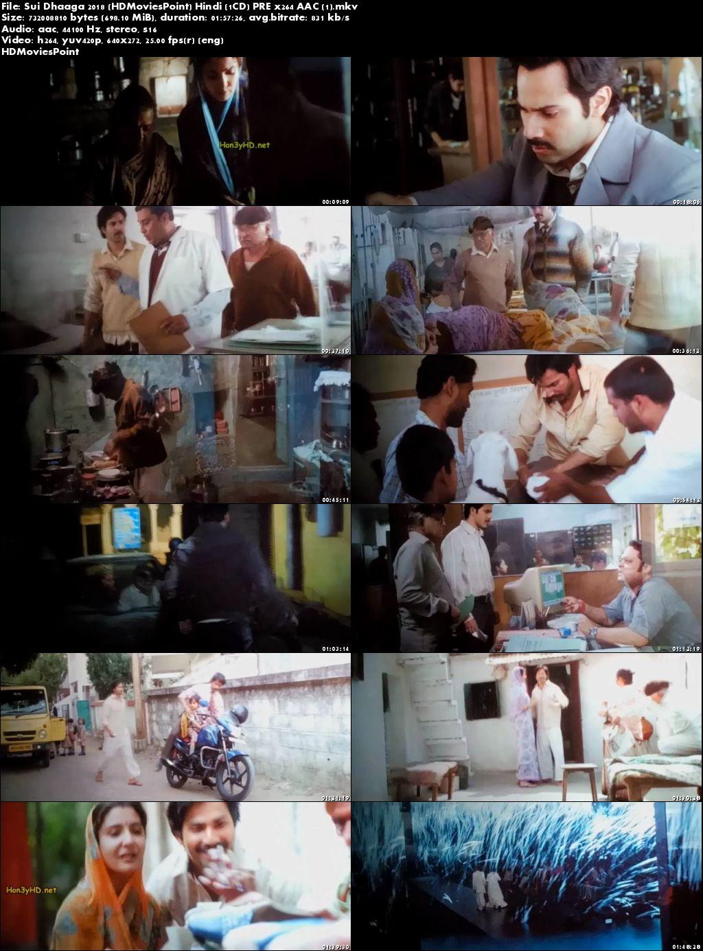 Screen Shot Sui Dhaaga: Made in India 2018 Full Hindi Movie Download 720p