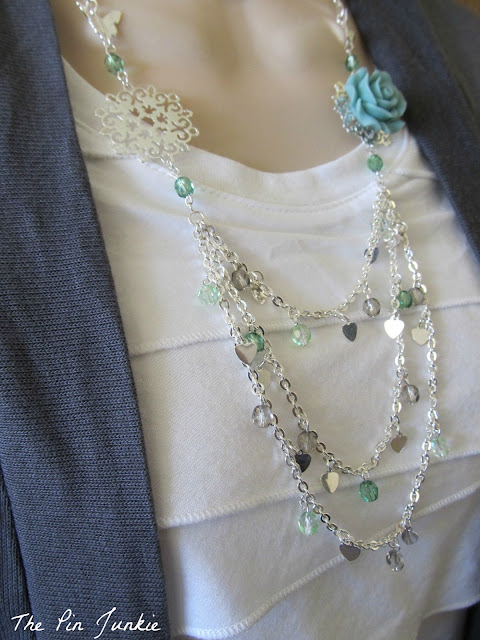 diy beaded necklace tutorial