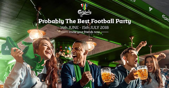 World Cup 2018 Football Party With Carlsberg Probably The Best Football Beer