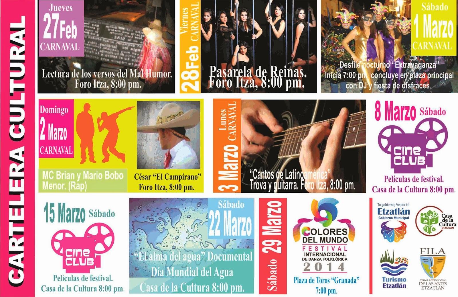 Blog De Información De Etzatlán: Blog De Información De Etzatlán: Programa Carnaval