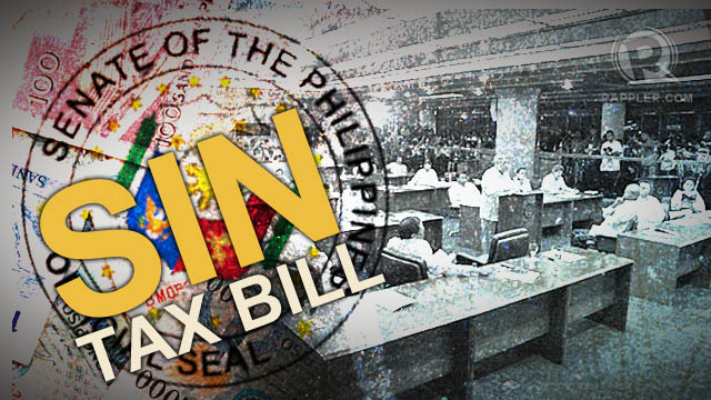 Sin Tax Reform