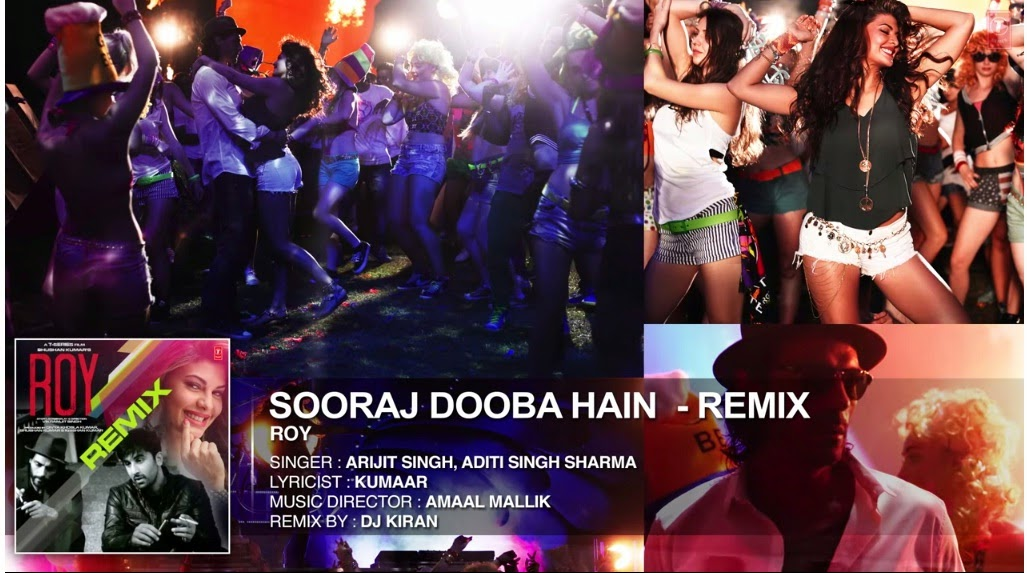 Sooraj Dooba Hai Lyrics - Roy (2015)