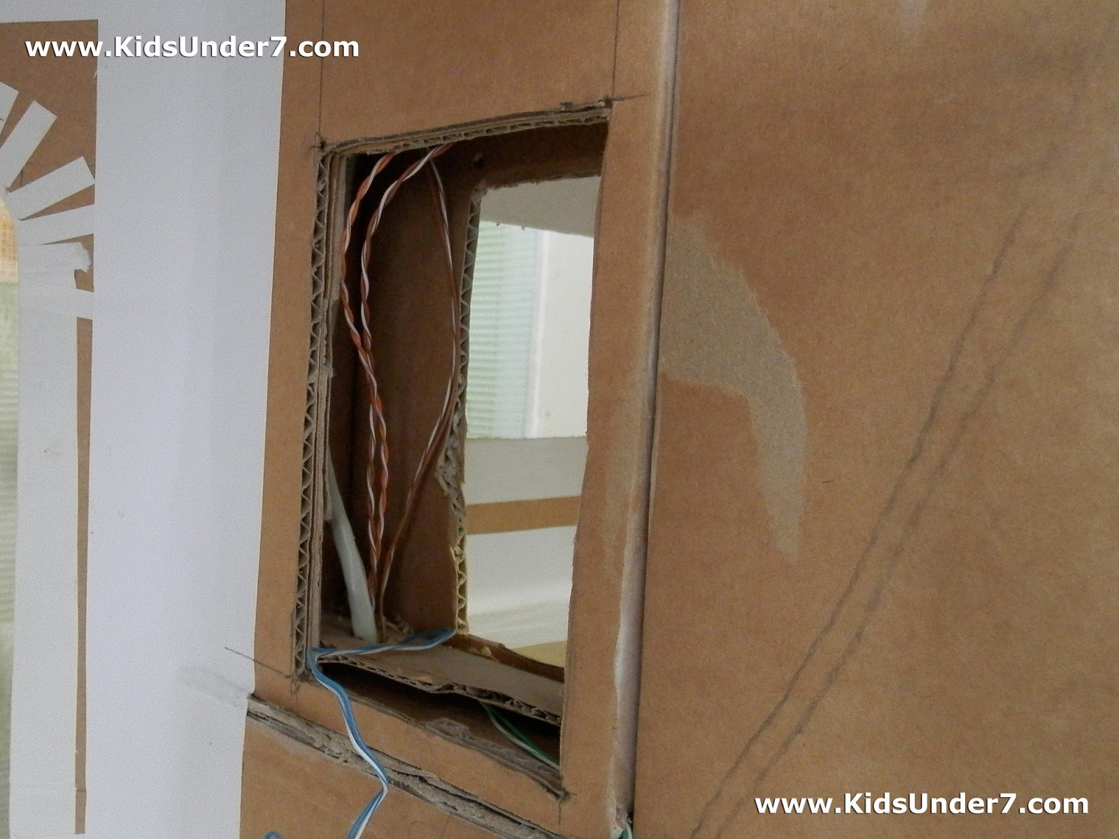 Kids Under 7 How To Make A Dollhouse Part 1 Doll House Wiring In The Future We Will Hide All Wires