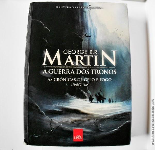 """""""A Gerra dos Tronos"""" do George R. R. Martin"""