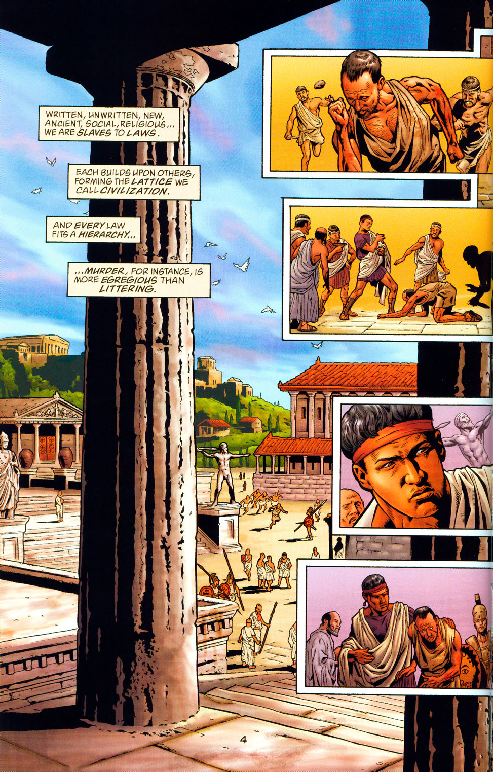 Read online Wonder Woman: The Hiketeia comic -  Issue # Full - 10