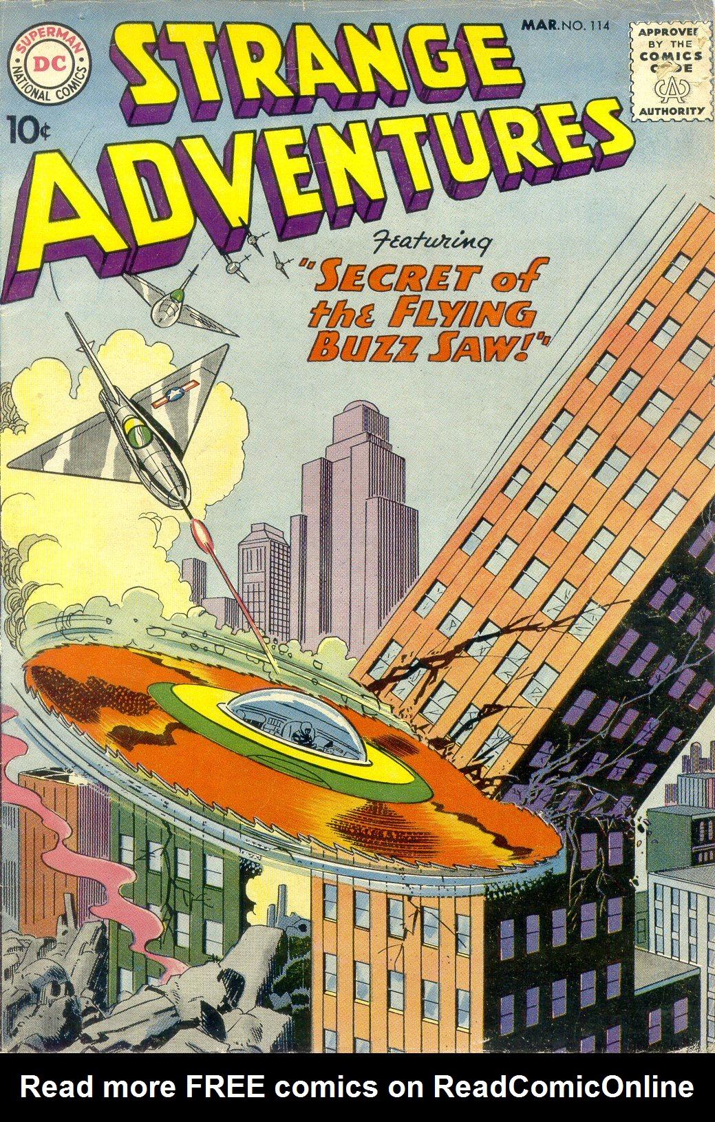 Strange Adventures (1950) 114 Page 1