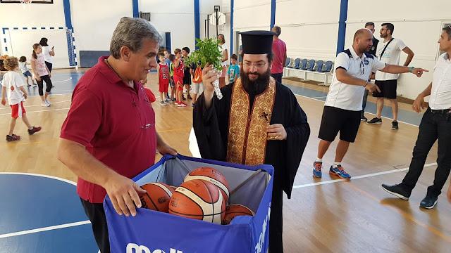 Αγιασμός και τελετή έναρξης των ακαδημιών και των αγωνιστικών τμημάτων του Οίακα Ναυπλίου