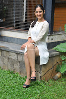 Radhika Cute Young New Actress in White Long Transparent Kurta ~  Exclusive Celebrities Galleries 043.JPG