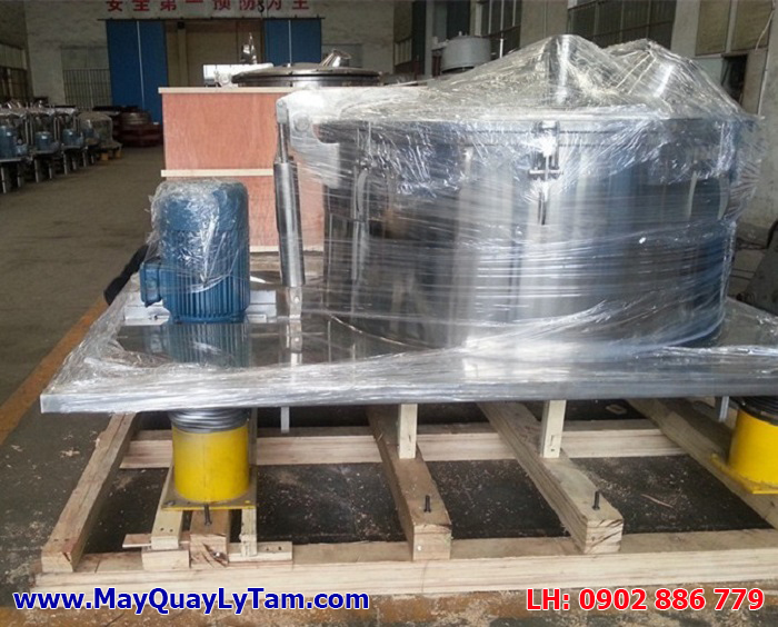 Máy vắt ly tâm inox, máy ly tâm dạng rỗ (giỏ) nhập khẩu từ Đài Loan và Trung Quốc có tốc độ quay cao, lực vắt mạnh mẽ