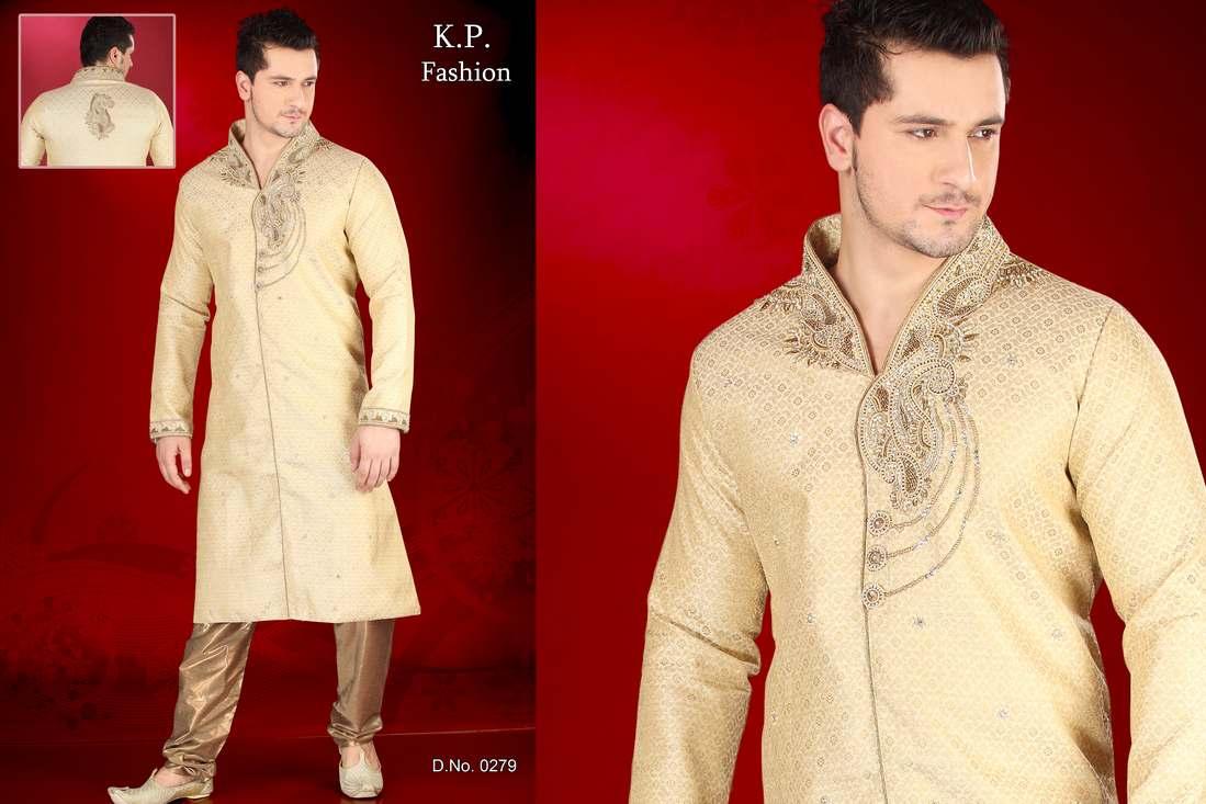 Wedding Wear Ethnic Sherwani For Men In India By K P Fashion