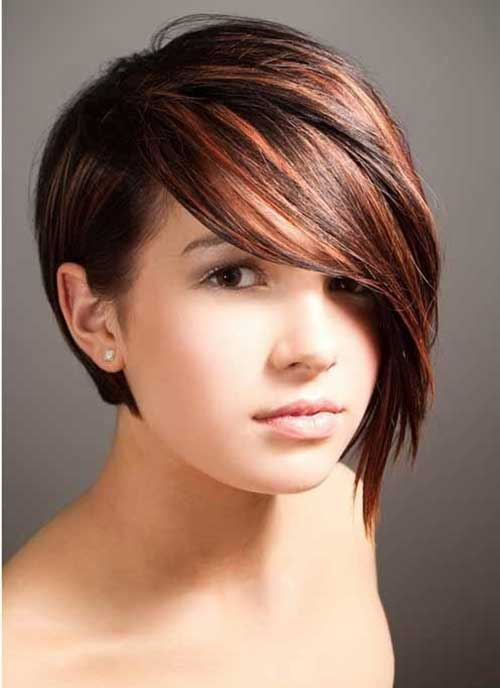 Short Bob Hairstyles for Round Faces 2015 1