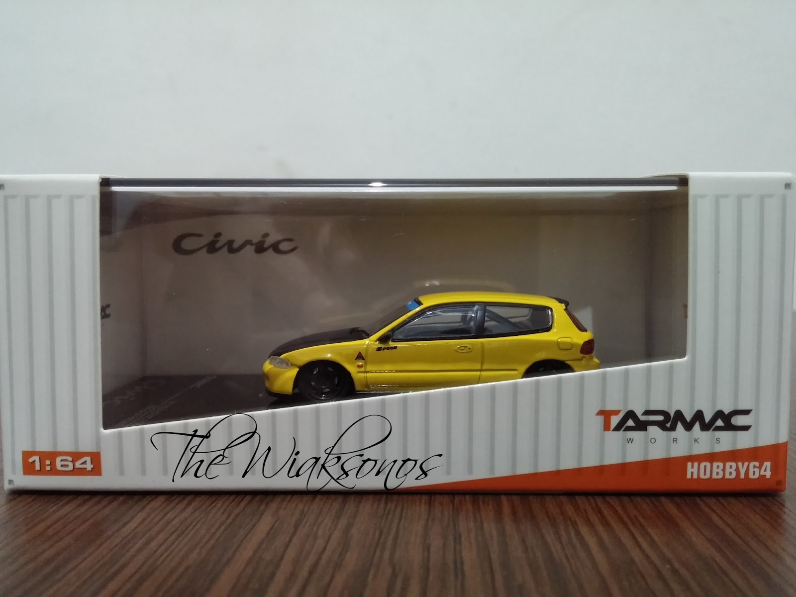Review Diecast Honda Civic Estilo
