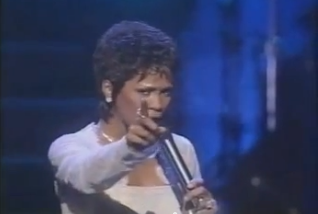 Whitney Houston in concert 1997