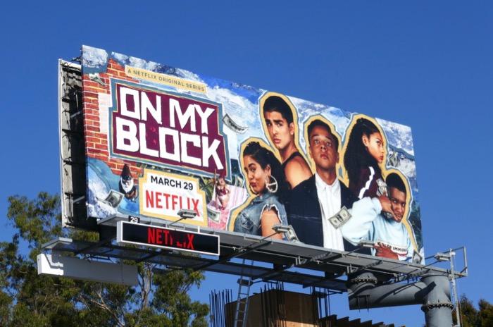 On My Block season 2 billboard