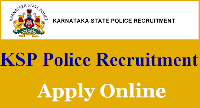 KSP Recruitment 2018 - For 849 Posts of Special Reserve Police Constable