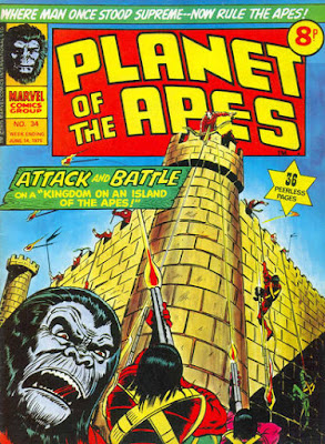 Marvel UK, Planet of the Apes #34