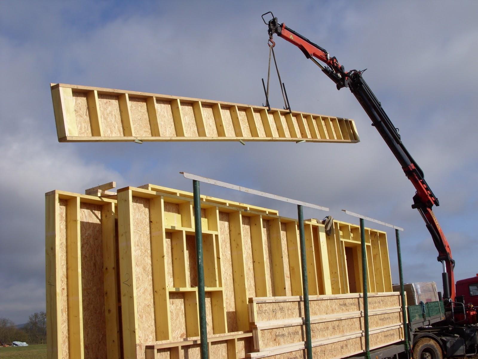 vivre en bois montage des murs. Black Bedroom Furniture Sets. Home Design Ideas
