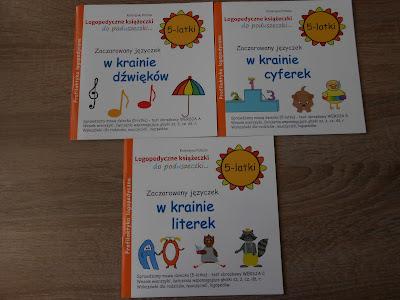 Wydawnictwo Ida- Logopedyczne książeczki do poduszeczki 5-latki