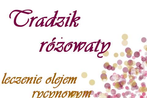 Trądzik różowaty - leczenie olejem rycynowym - czytaj dalej »