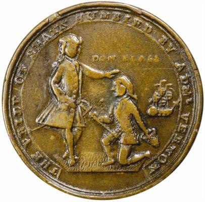 Monedas Blas de Lezo