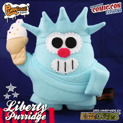 New York Comic Con 2015 Exclusive Liberty Purridge Plush by Furry Feline Creatives