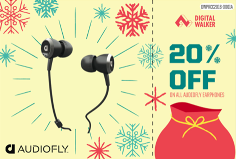 20% off on Audiofly earphones!