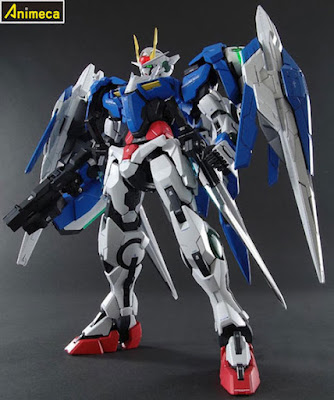 00 RAISER GN-0000+GNR-010 PERFECT GRADE (PG) 1/60 MODEL KIT GUNDAM 00