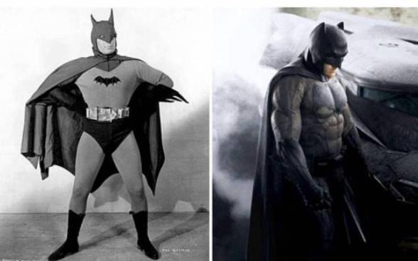 Perbedaan Batman jaman dulu dan sekarang