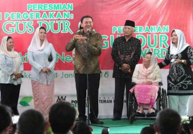 Putri Gus Dur : Tak Ada yang Bisa Nyetir Ahok, Malaikat Saja Sudah Angkat Tangan