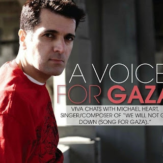 Michael Heart - We Will Not Go Down (Song For Gaza) Lyrics Video