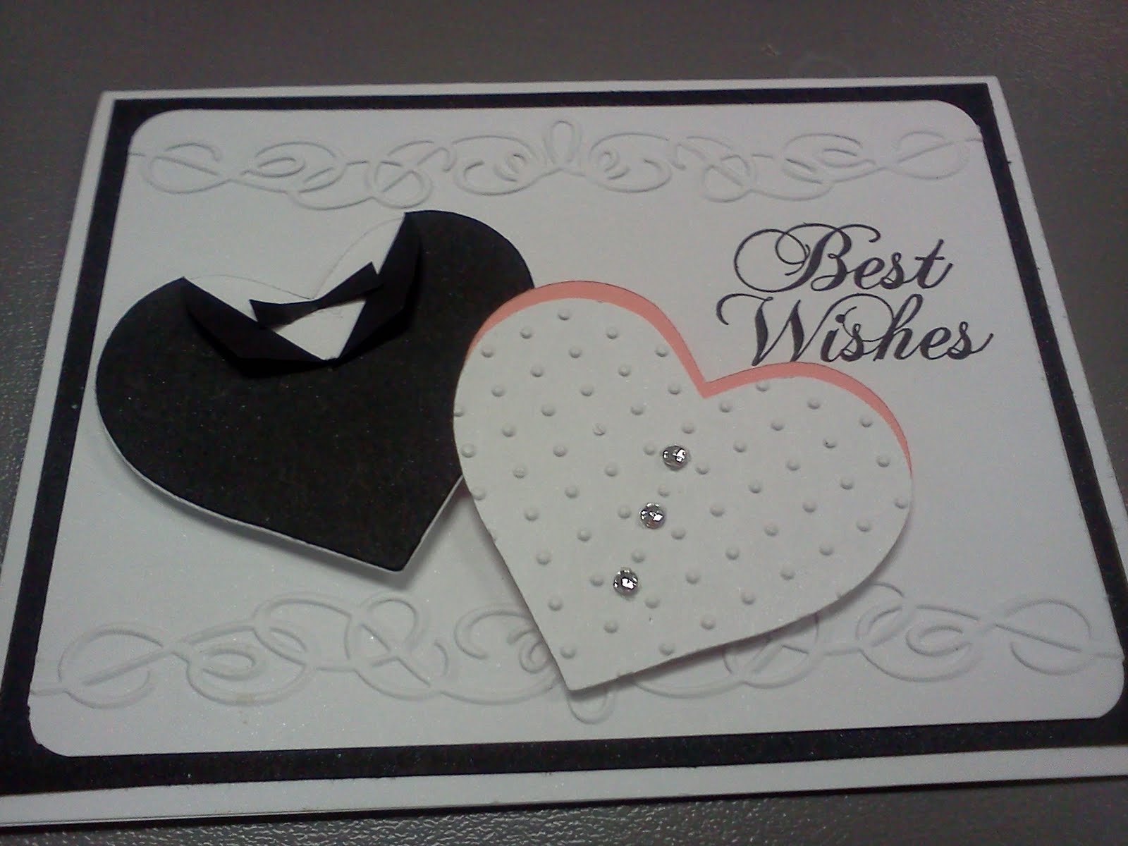 ScrappyKsue: Wedding Card
