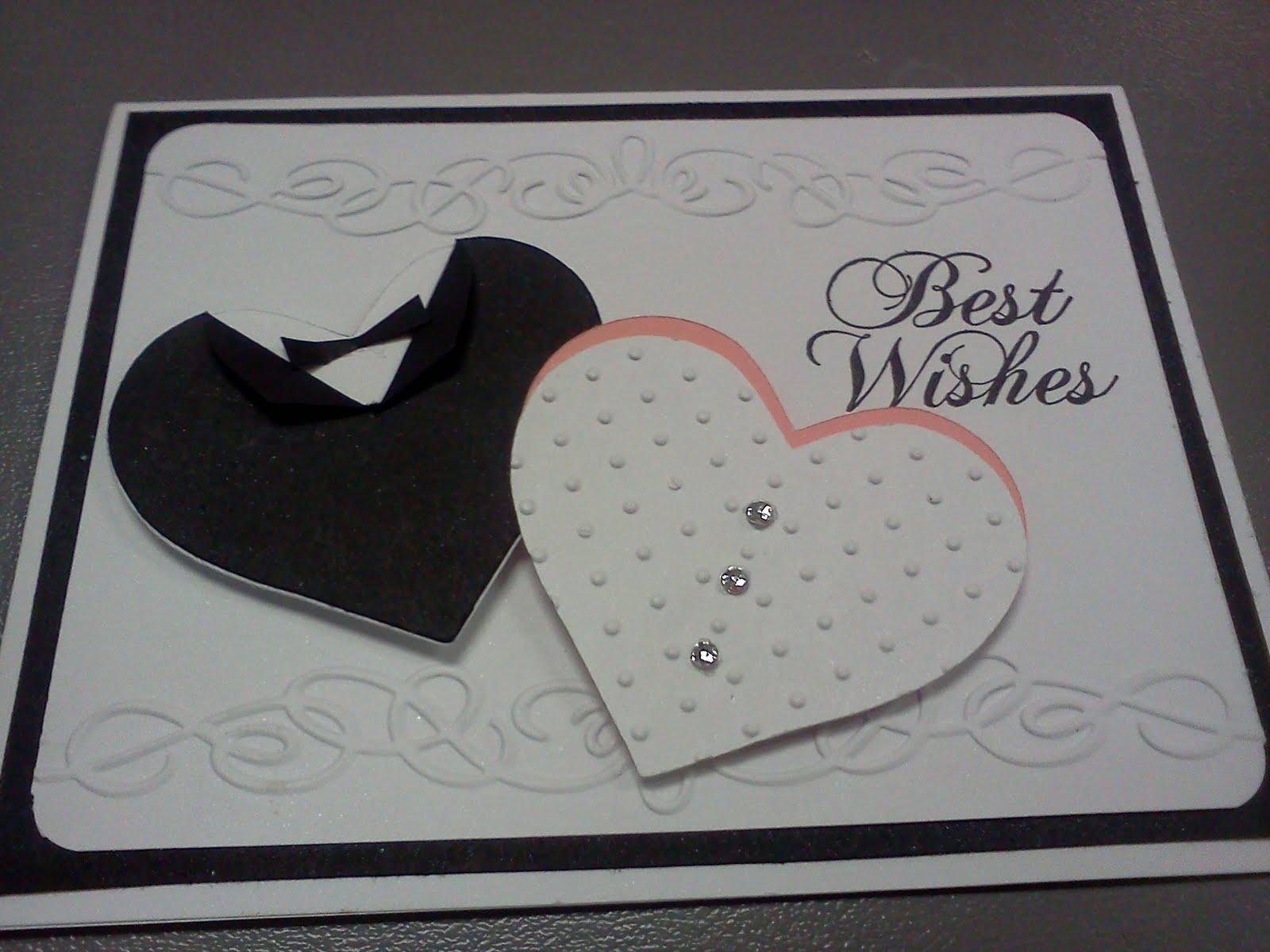 ScrappyKsue: Wedding Card