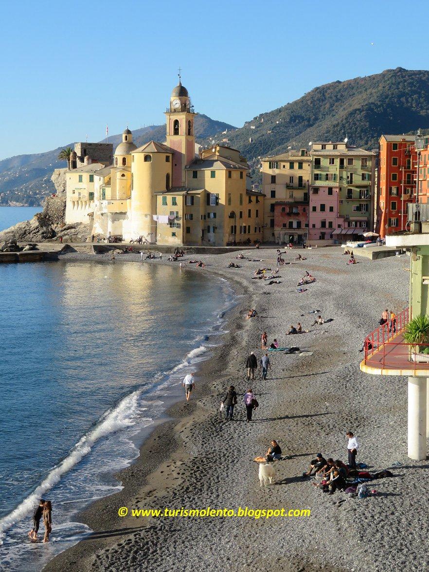 Turismo Lento Dimenticare linverno Camogli Genova