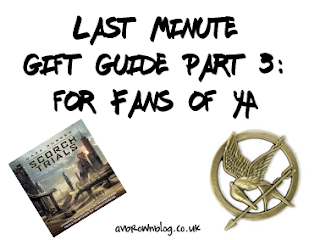 Last Minute Gift Guide Part 3: for Fans of YA Books