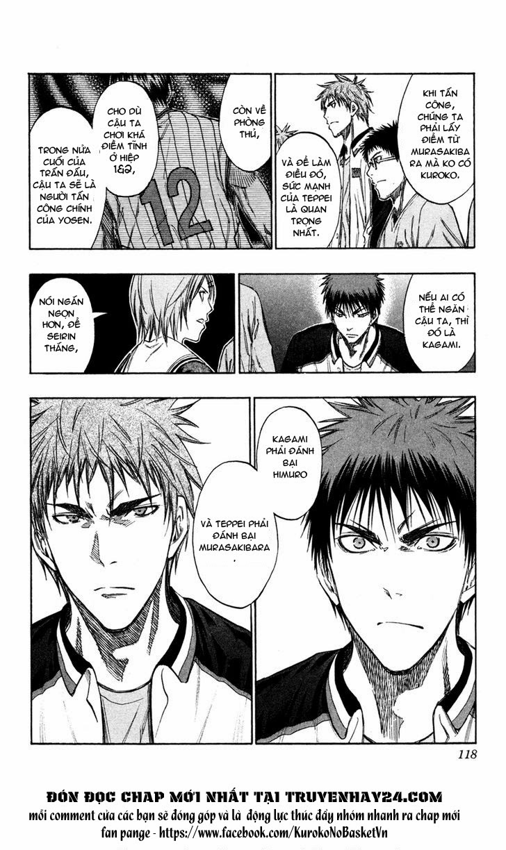 Kuroko No Basket chap 150 trang 12