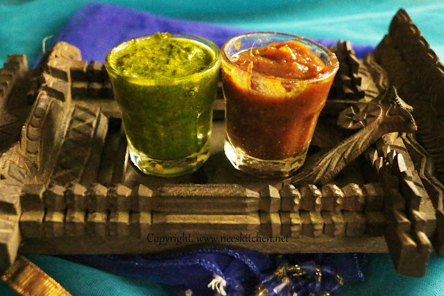 Green Chutney & Dates Chutney
