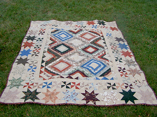 Birchbark Lodge Quilt Free Tutorial