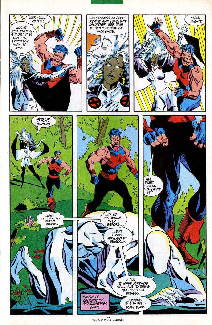 Read online Silver Surfer (1987) comic -  Issue #85 - 15