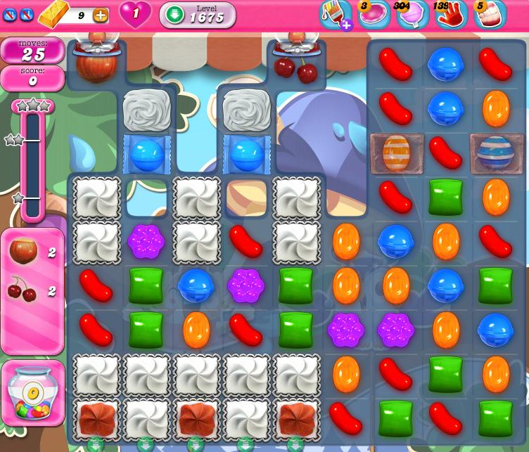 Candy Crush Saga 1675